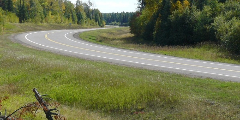 Superior National Forest Scenic Byway in Lake County.. – Lee Radzak