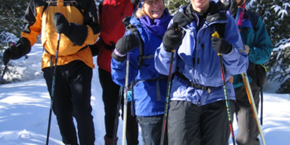 Skiing on the Banadad Trail – Ted Young