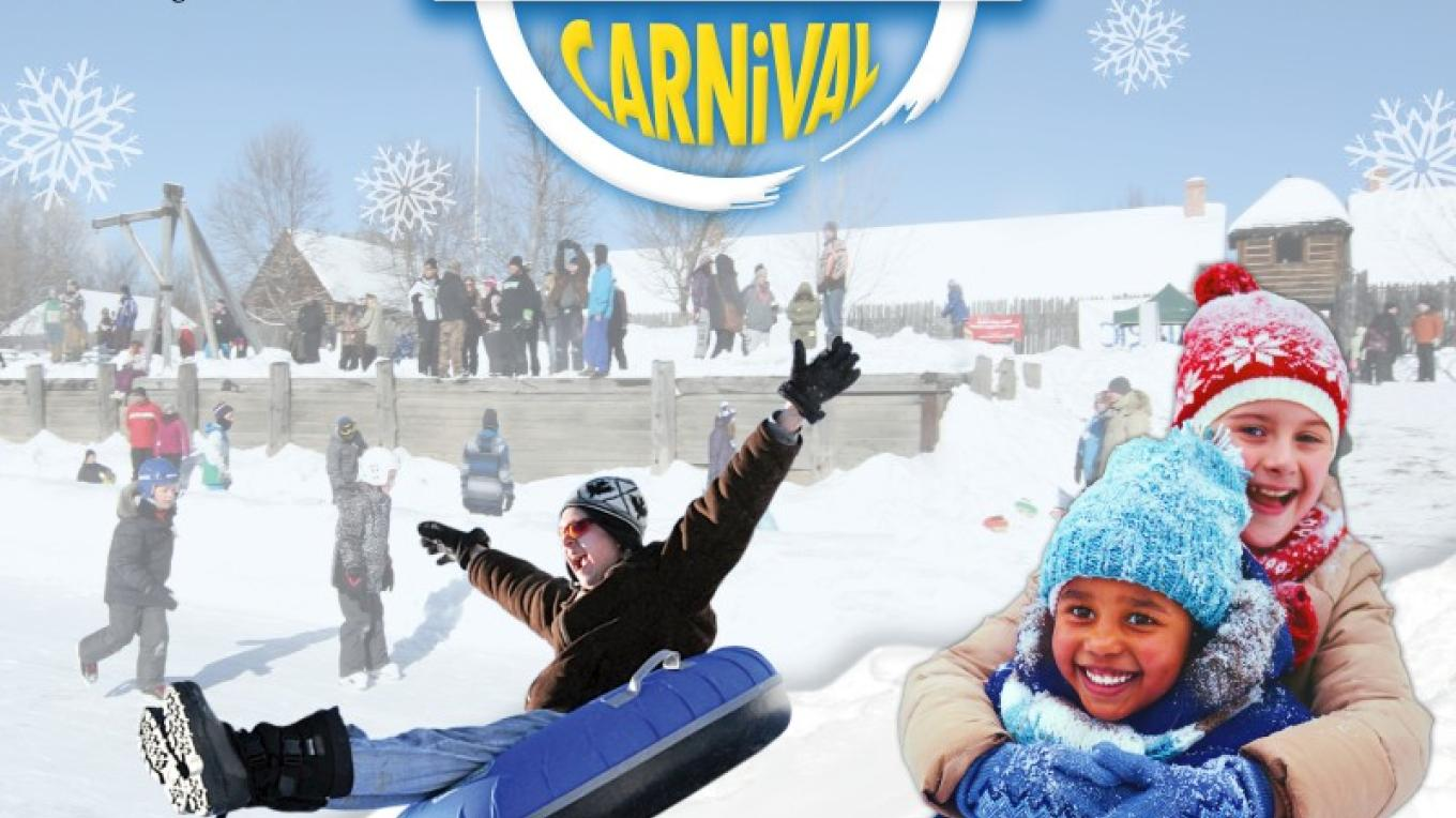 Winter fun awaits at Fort William Historical Park's Voyageur Winter Carnival!