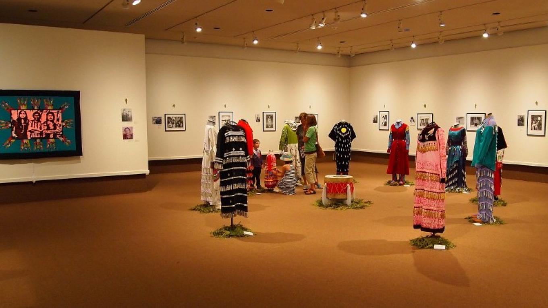 A display of native art – Duncan Weller