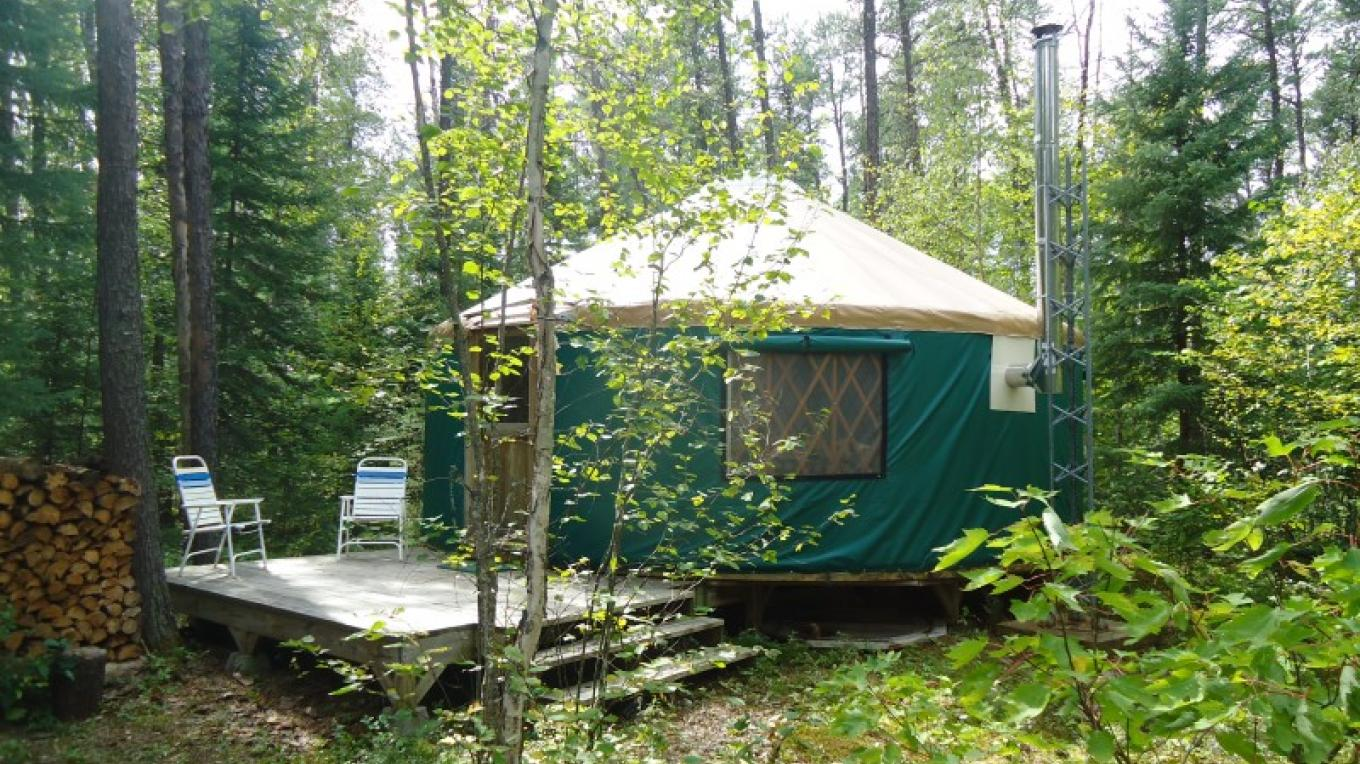 Wilderness Yurt Exterior – Owner