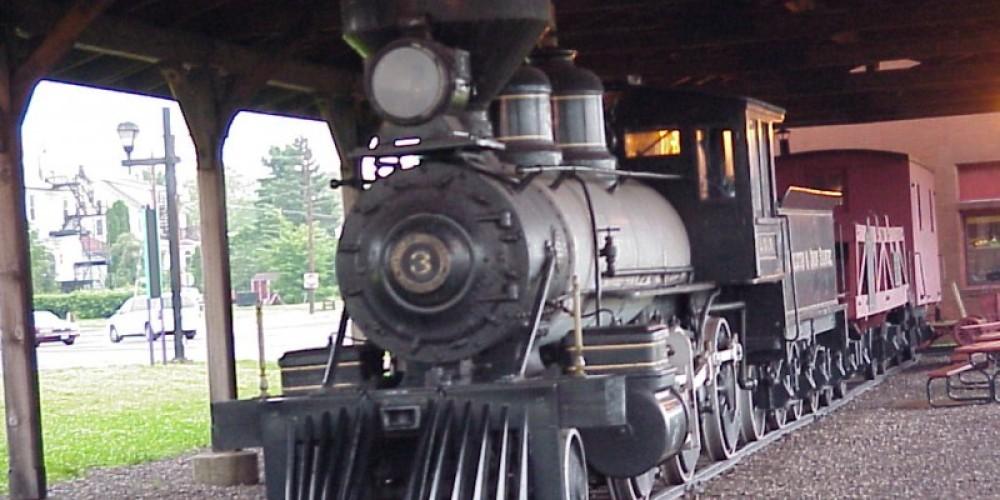 The 3 Spot Locomotive. First locomotive on Minnesota's Iron Range – Mel Sando