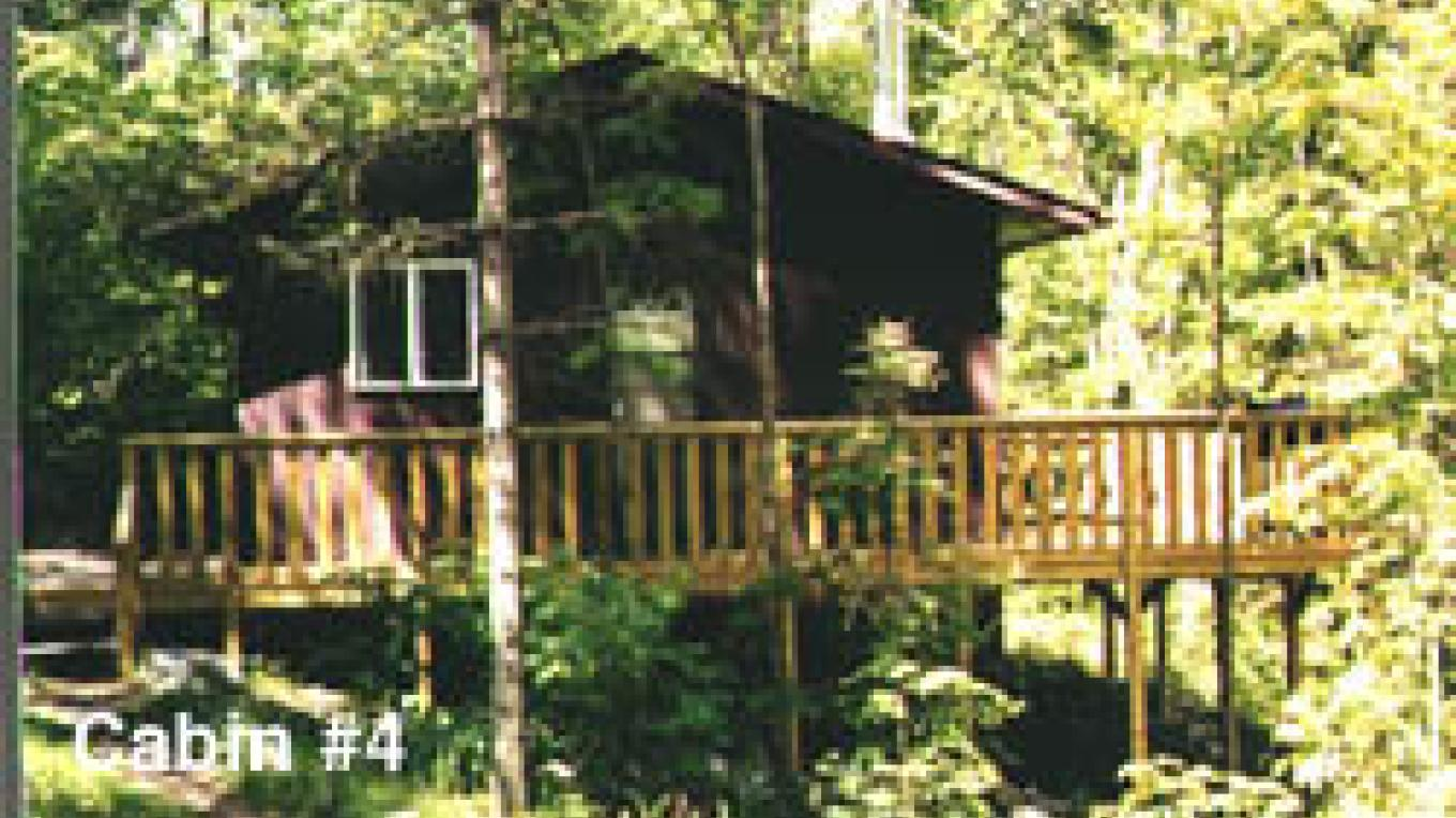 Cabin 4 for up to five people – Joe Baltich