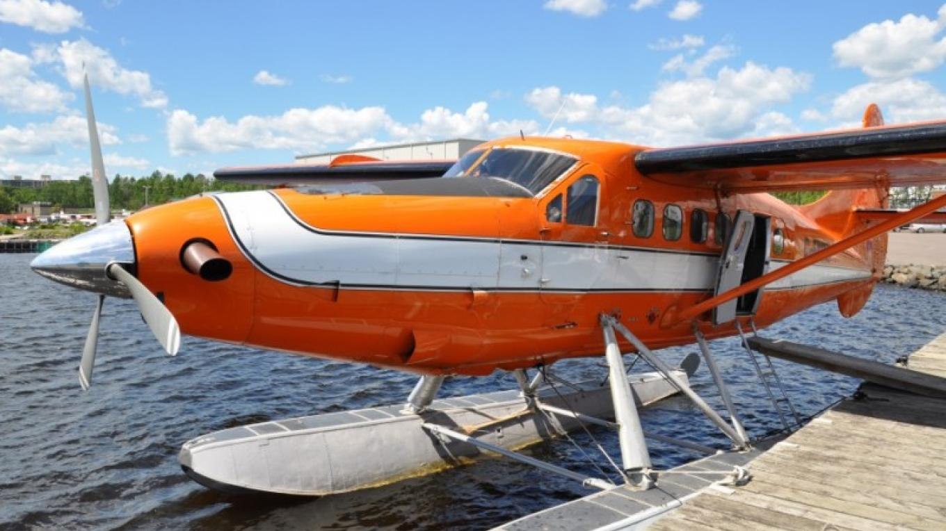 Like the DHC Beaver, the rugged and dependable Otter is another work horse and key asset to Wilderness North's fleet. It is primarily based in Armstrong, but will often visit Thunder Bay to accommodate special flights. – Monica Prelle