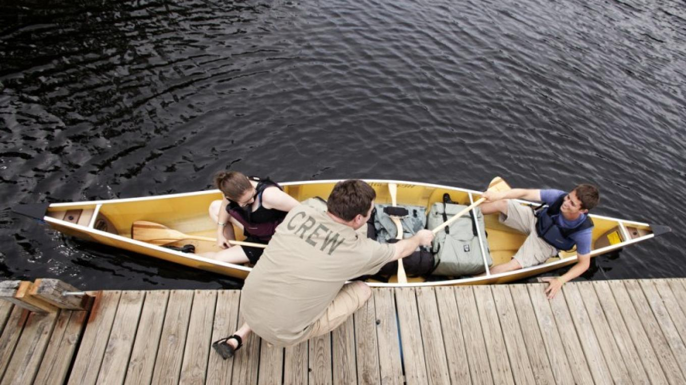 Canoe paddling instruction – Voyageur Canoe Outfitters