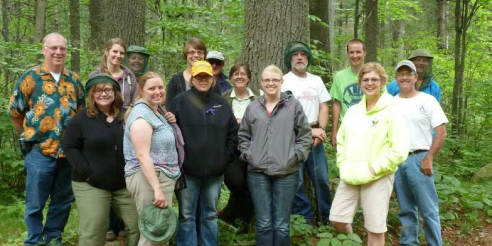 Dynamic Forests Workshops - Illustrate the process of sustainable forest stewardship with stops at various forest stands to look at management practices, forest products, and how to regenerate what is cut. – John Geissler