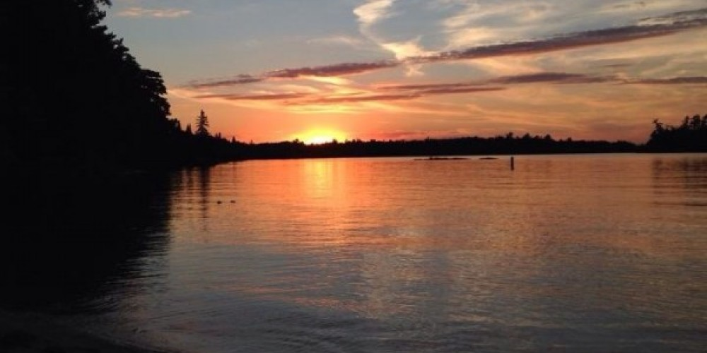 One of our spectacular sunsets – Heather Nevalainen