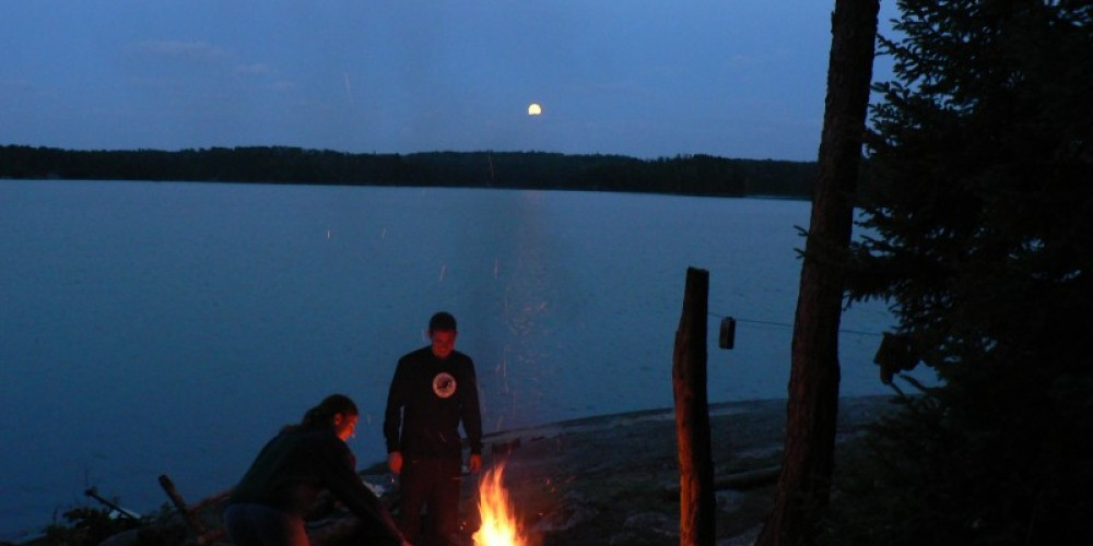 Evening on Trowsers Lake – cs