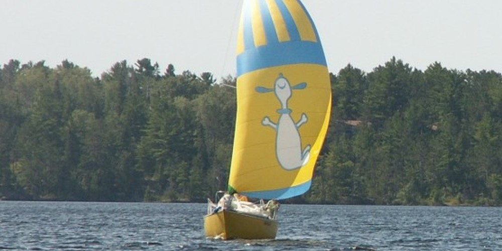 "Sailing Tour aboard ""Night Moves"" on Rainy Lake. – Eric Johnson"