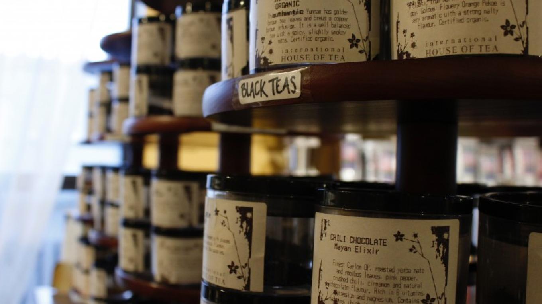 Tea smelling samples – Makinsey Shmanka