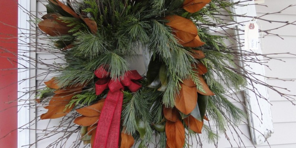 Winter wreaths – Camille Overmeer