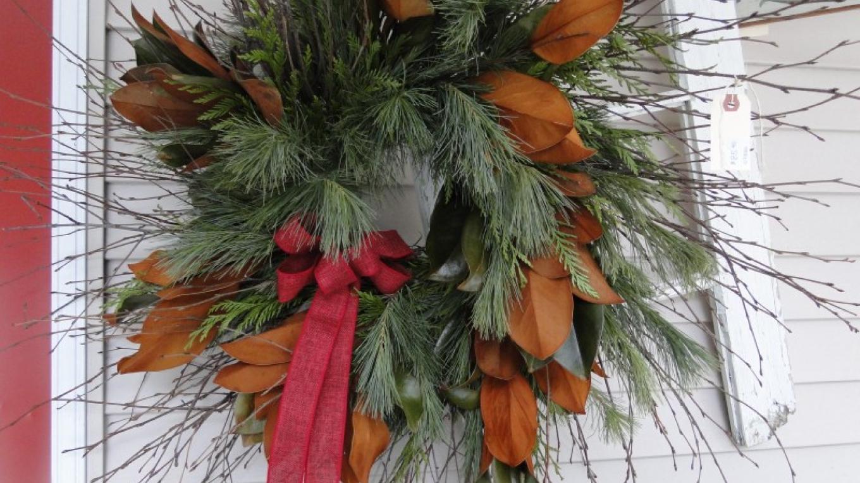 Winter wreaths – Camille Overmeer