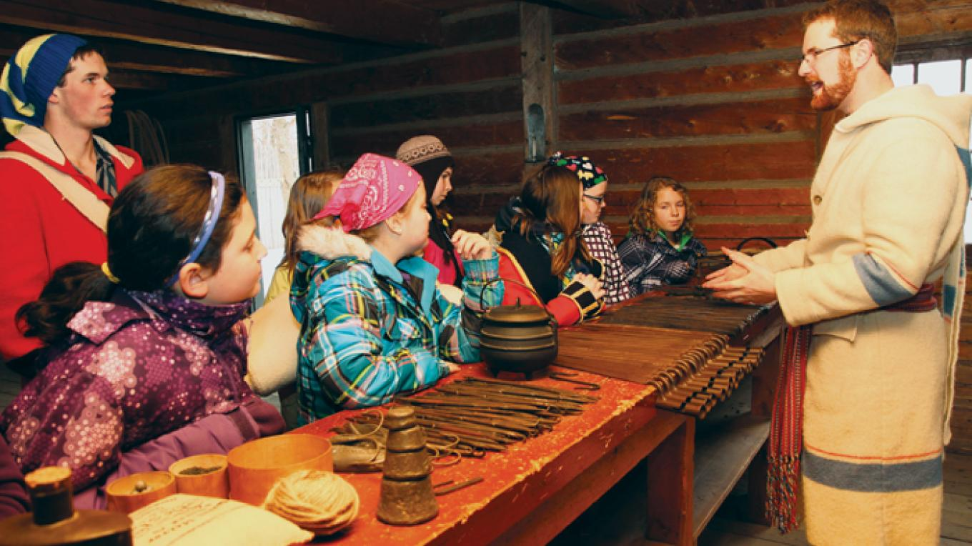 Fur trade history at your fingertips – Fort William Historical Park