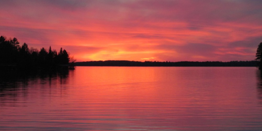 Lake Vermilion Sunsets are ten minutes away. – Laura Pajari