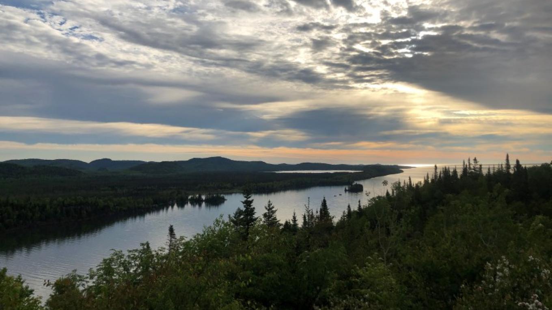 Finger Point trail summit at Pigeon River – Courtney Lanthier