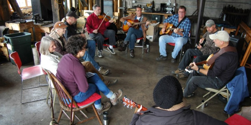 Music jams bring lively music to campus--bring your instrument and take part! – North House Folk School
