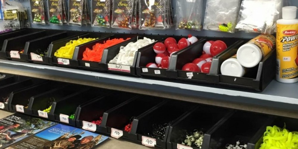 A great selection of tackle – Larry's Baits