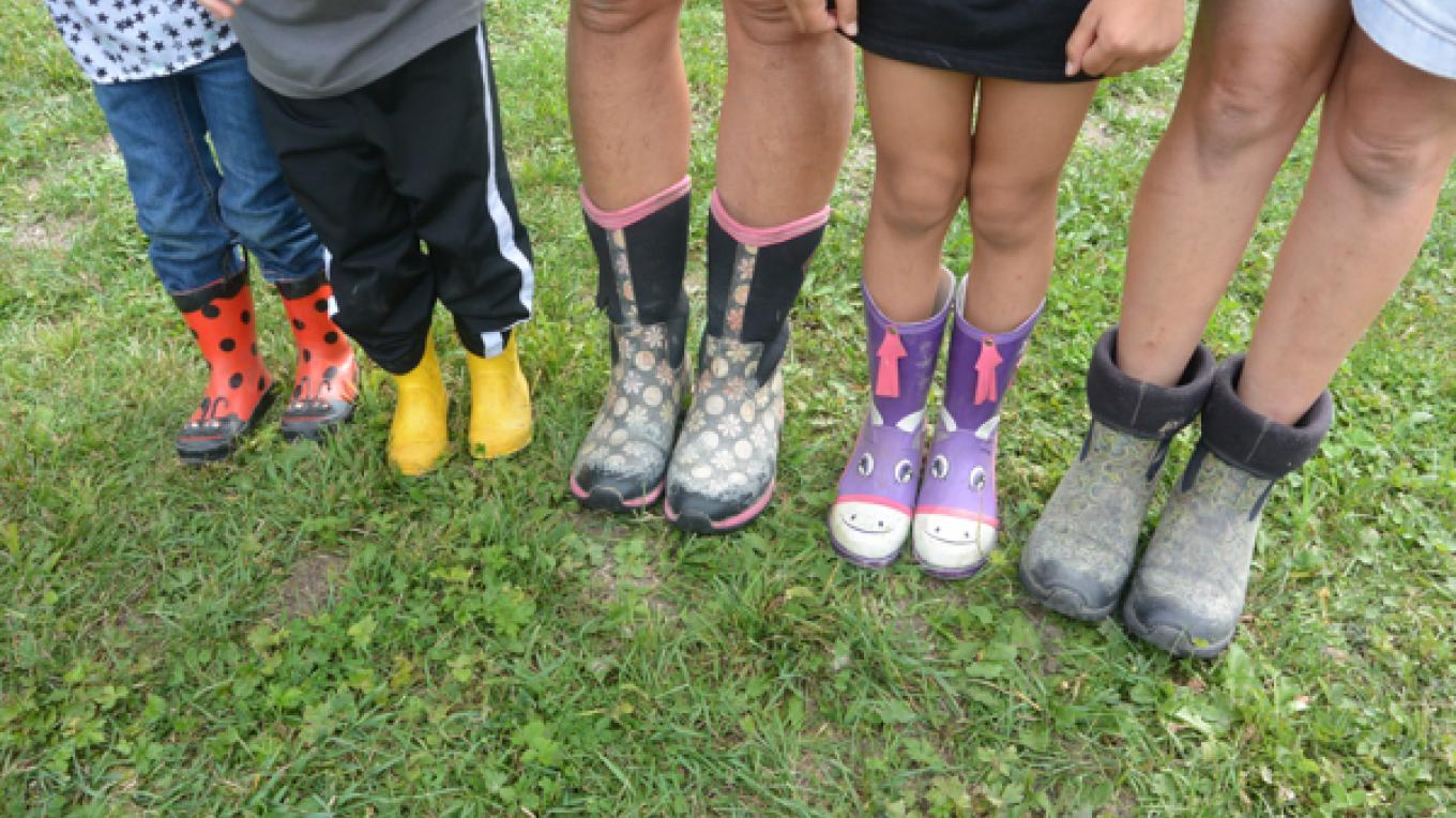 Boots! Let's unplug and get outside! – Laura Pajari
