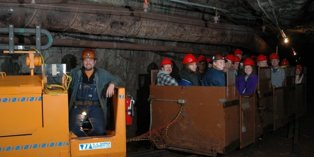 Underground tours are offered seasonal, daily. – MN DNR