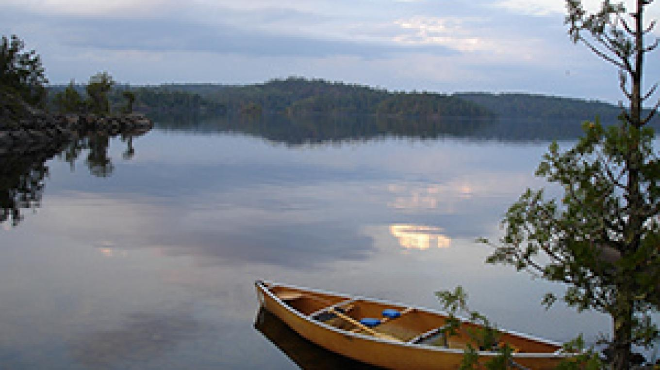 A Boundary Waters Canoe Area lake – Tom Frost