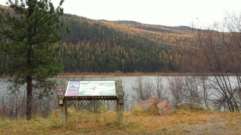 Salmon Lake HWY 83 Overlook