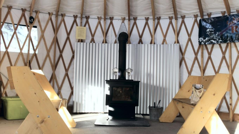 Seeley Creek Nordic Warming Yurt
