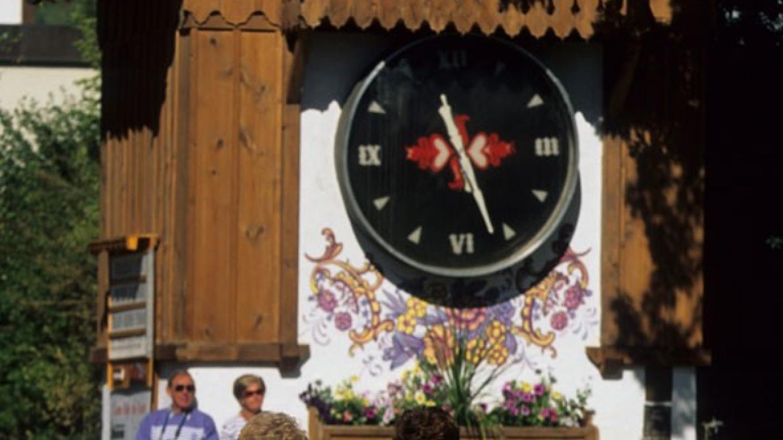 Kimberley\'s Platzl offers shopping, festivals and the world\'s largest cuckoo clock. – Don Weixl