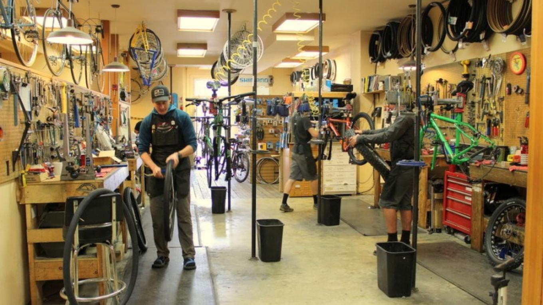 Glacier Cyclery & Nordic Services & Repairs Team – Sheena Pate