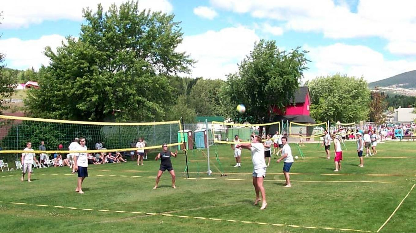 Many sport tournaments take place - register to participate or come to cheer on the players.