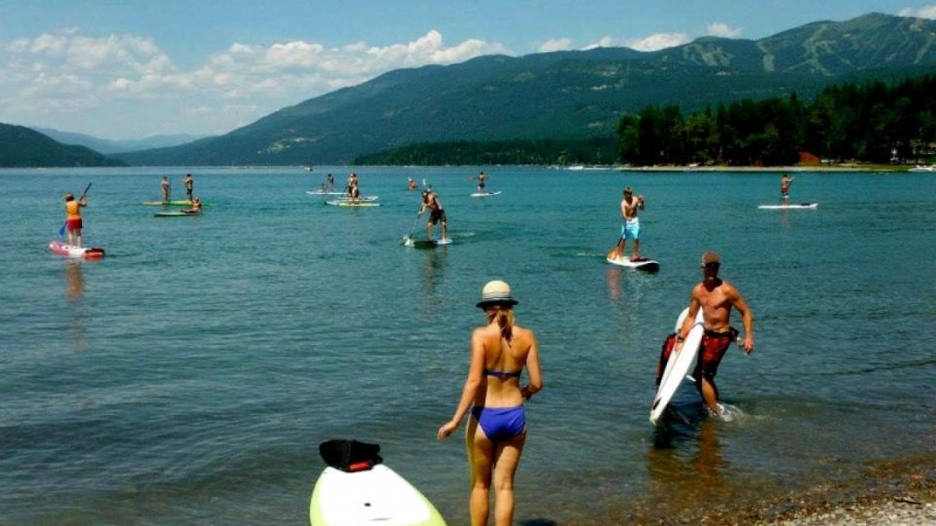 Whitefish City Beach Family Fun