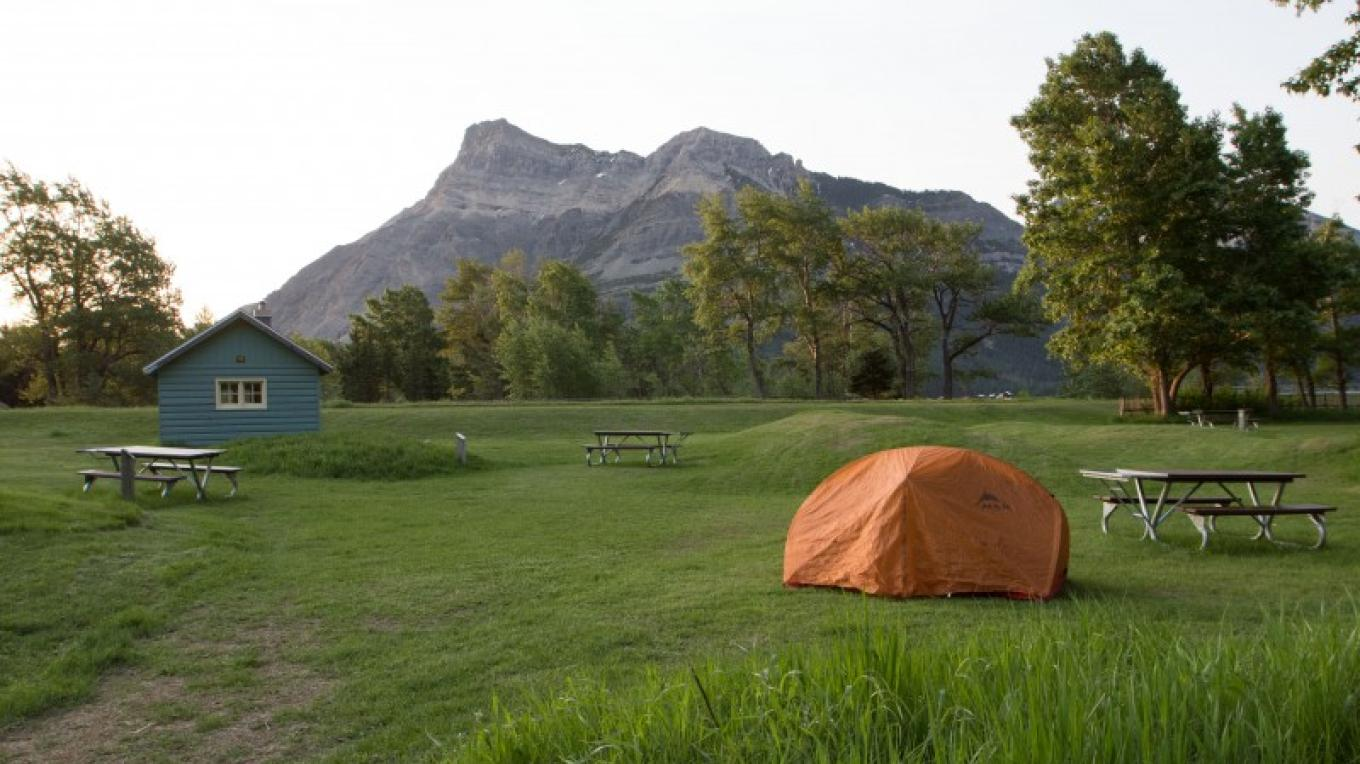 Townsite Campground- walk-in tent sites – Sheena Pate