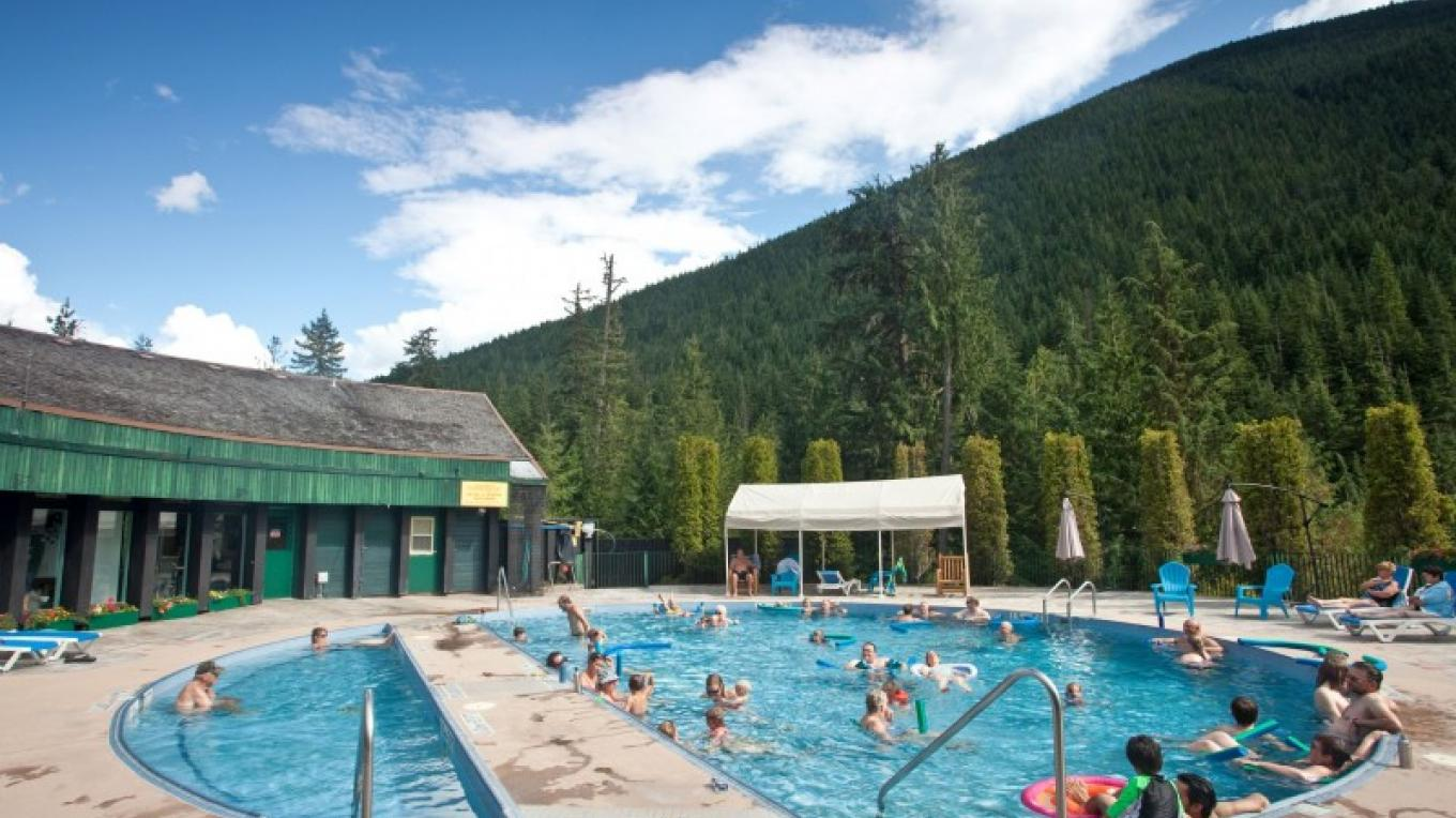 Nakusp Inviting pools - open year-round. – Andrew Penner
