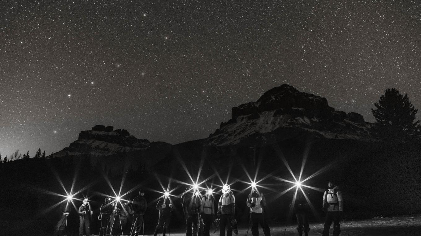 Starry Sky  Photography Workshop with Bound for Mountain Photography and Uplift Adventures. Photo: Bound for Mountain Photography