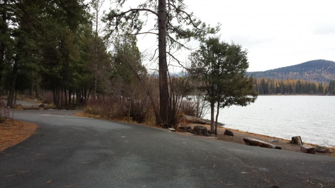 Placid Lake State Park Campground- Lakeside