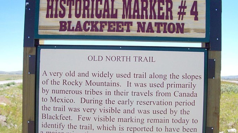 Old North Trail – Blackfeet Planning