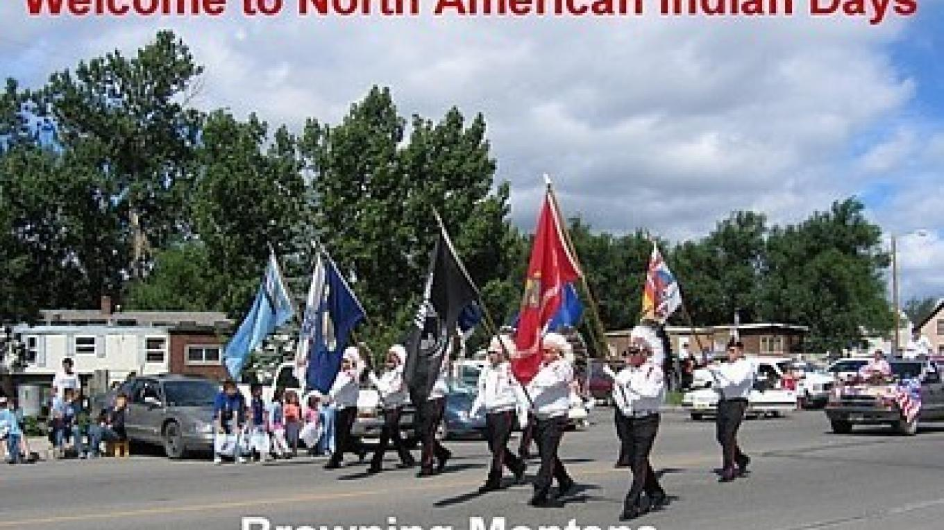 Welcome to North American Indian Days, Browning, Montana – Colleen\'s Computer Corner, LLC