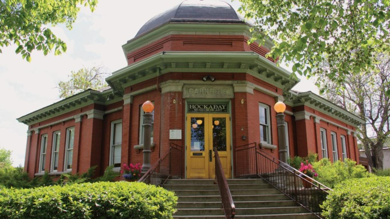 The Hockaday Museum of Art is located inside Kalispell's 1904 Carnegie Library Building. – Brian F. Eklund