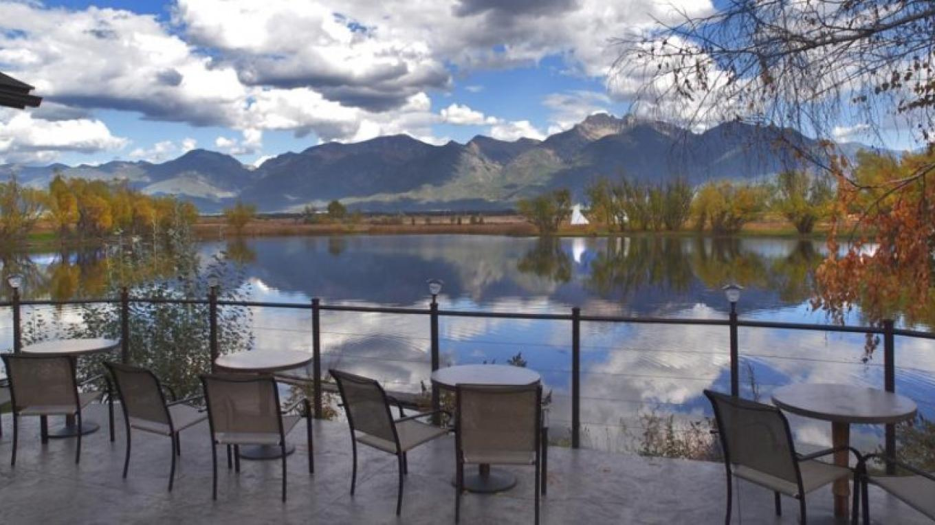 Patio view in the fall – Brian Morton