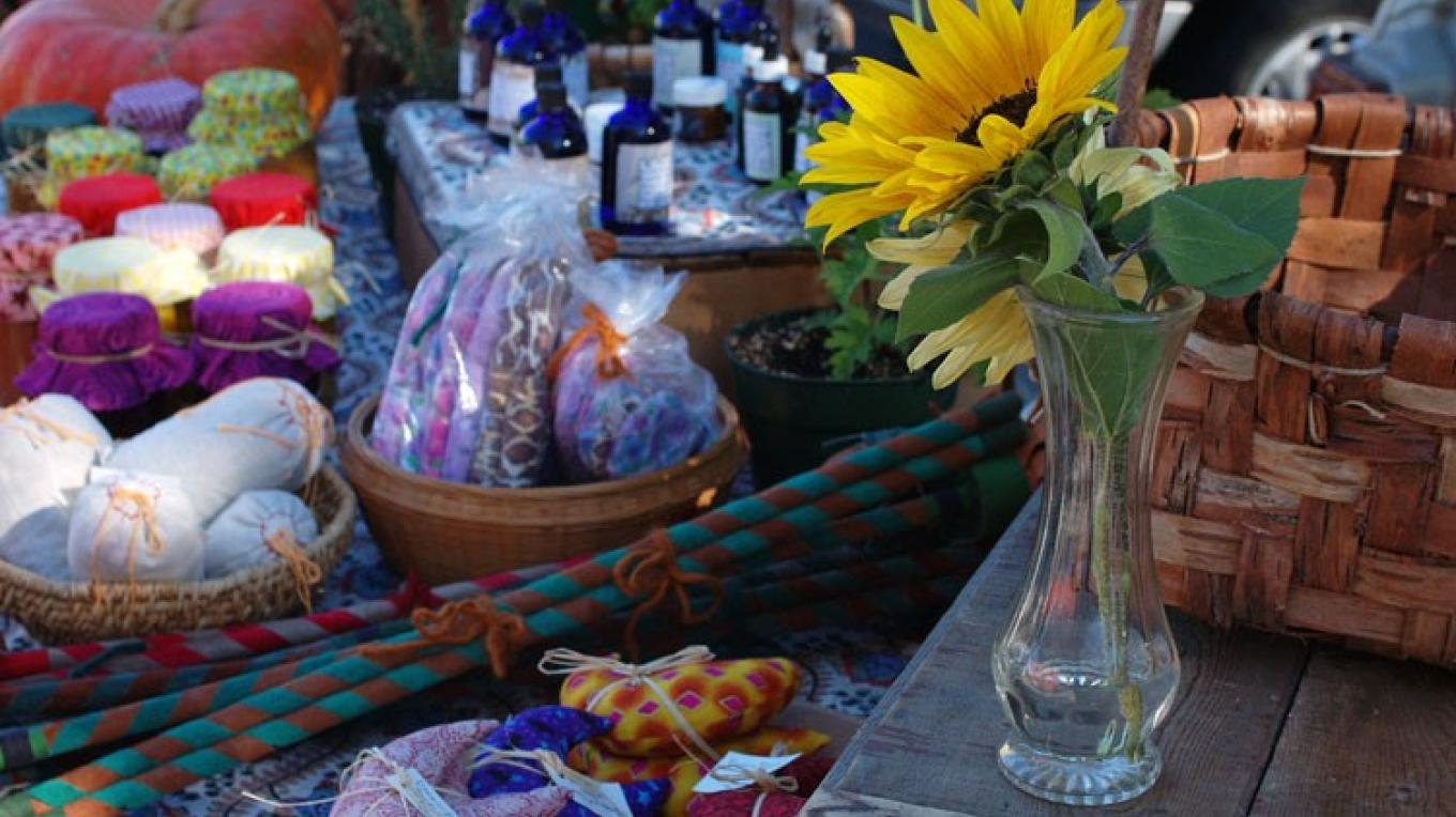 You'll find a whole variety of interesting items at the Farmers Market. – Sara Rainford