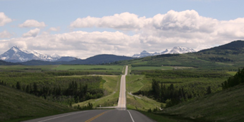 Highway 507 south from Highway 3 – David Thomas