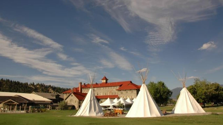 Tipi camp at St. Eugene Mission in Cranbrook, BC – Julie-Anne Davies