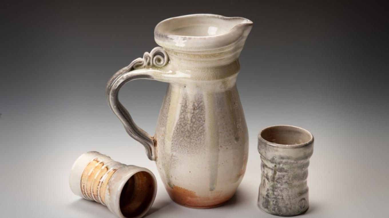 Experience the magical wood-soda high-fired porcelain vessels of Pamela Nagley Stevenson showing in the Slocan Valley. – Courtesy Columbia Basin Culture Tour