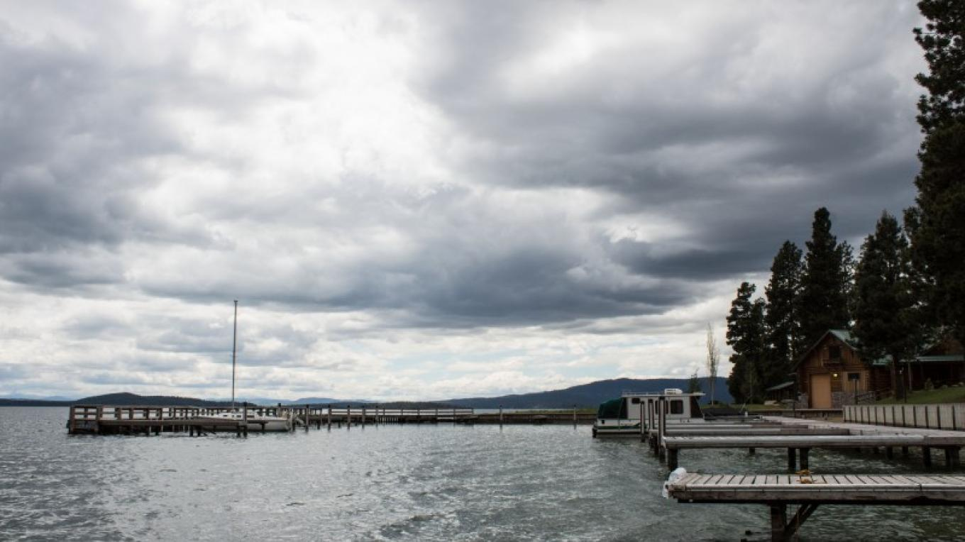 Blue Bay on Flathead Lake Boat Slips – Sheena Pate
