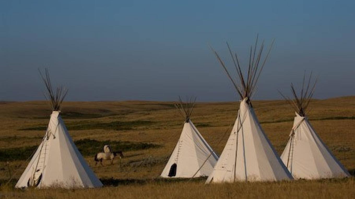 Blackfoot Tipi Village – Donnie Sexton