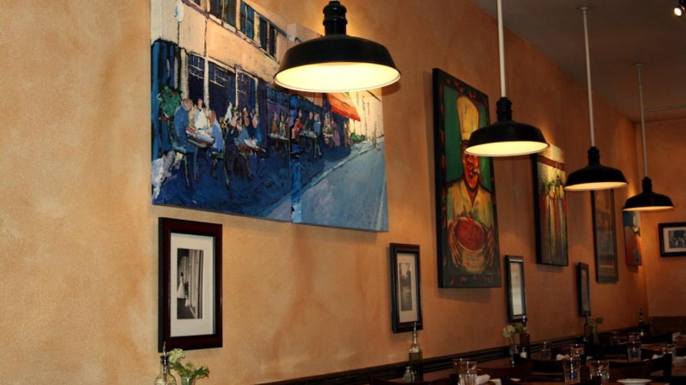 Tupelo's walls are covered with bold and bawdy art that reflects the cajun inspiration of the place. – John Frandsen