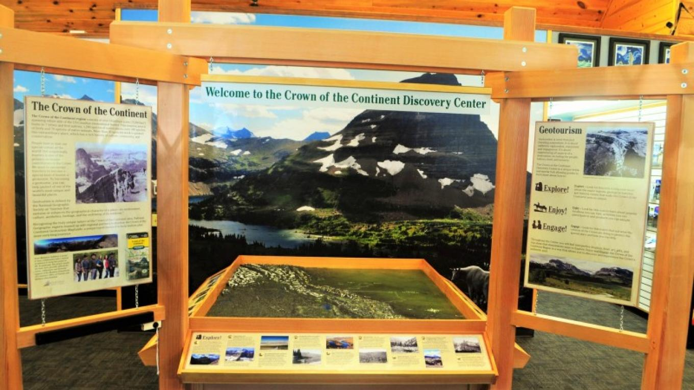 Crown of the Continent Discovery Center – Katie LeBlanc