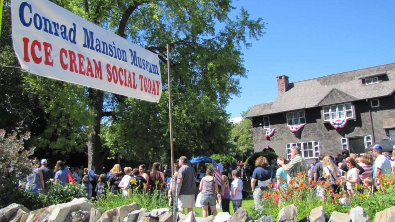 Kalispell 4th of July Ice Cream Social @ Conrad Mansion – Sheena Pate