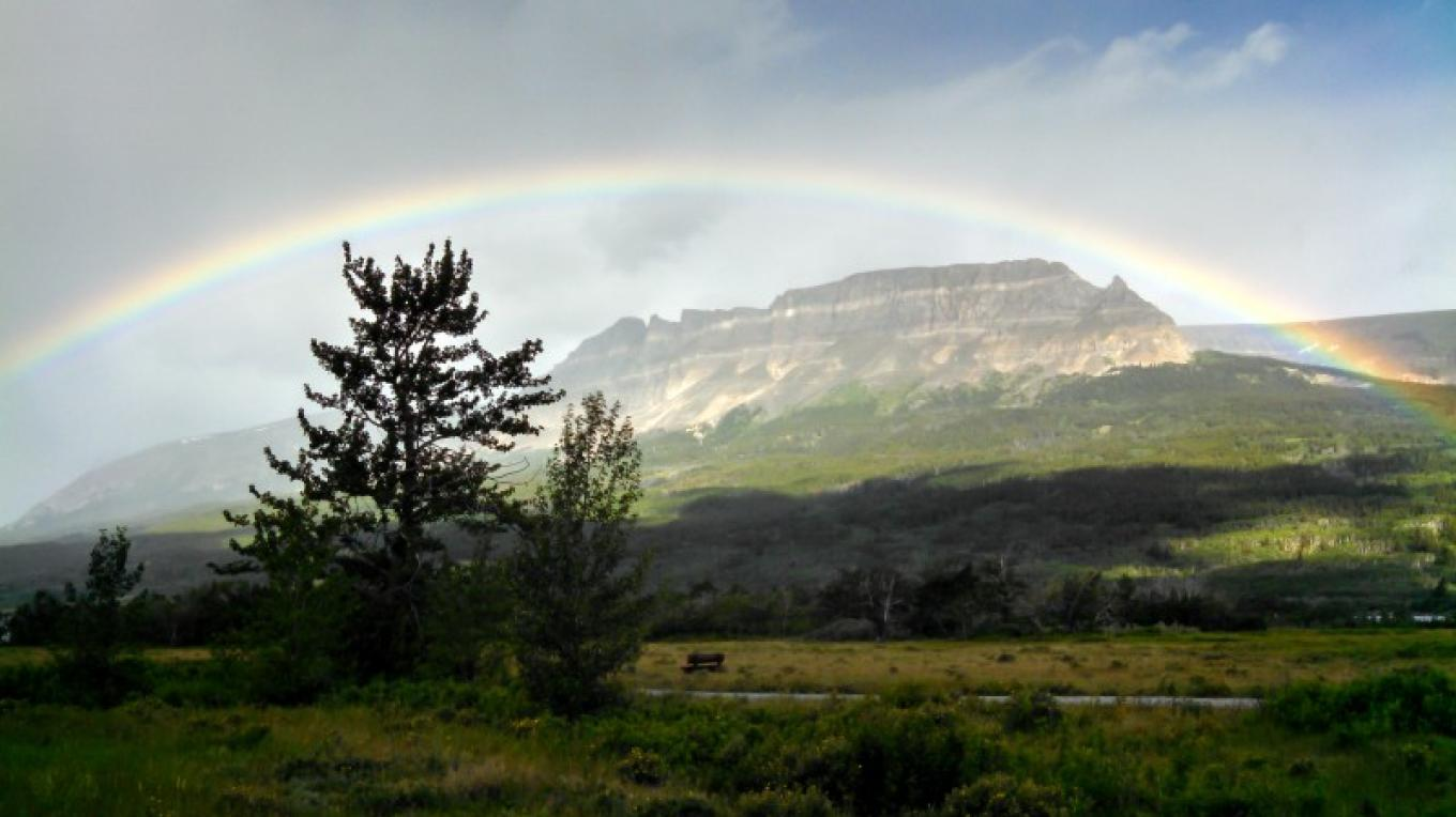 Morning rainbow in St. Mary. – Just Your Average Weekend Photography - Adam Birely