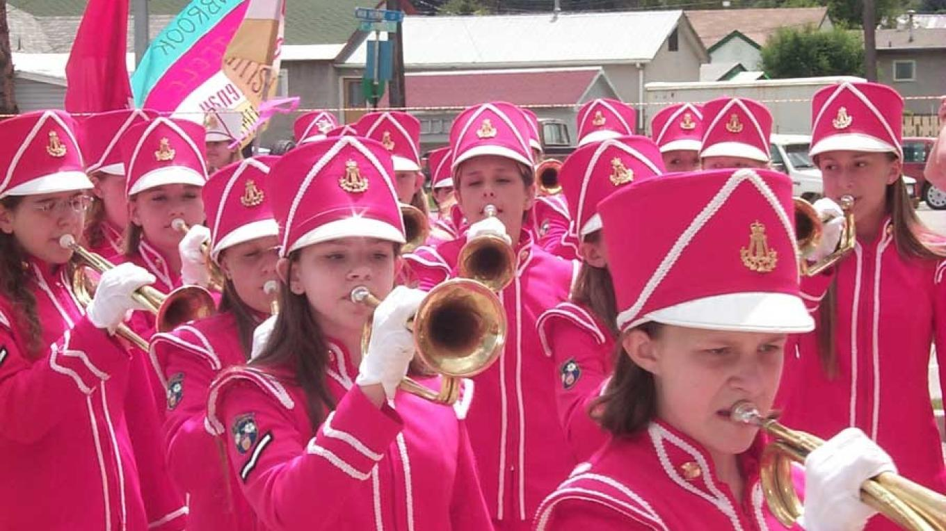 You'll be sure to see the Girls Bugle Band at all of Cranbrook's major events. – Doug Pyper
