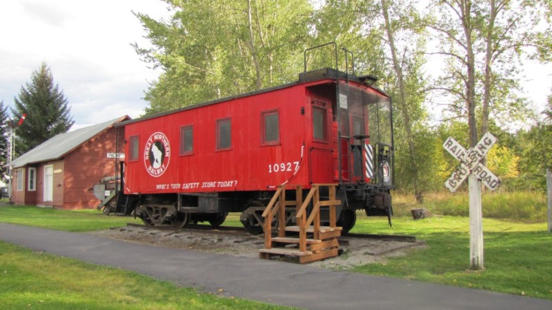 Great Northern Railway Car Exhibit – Sheena Pate